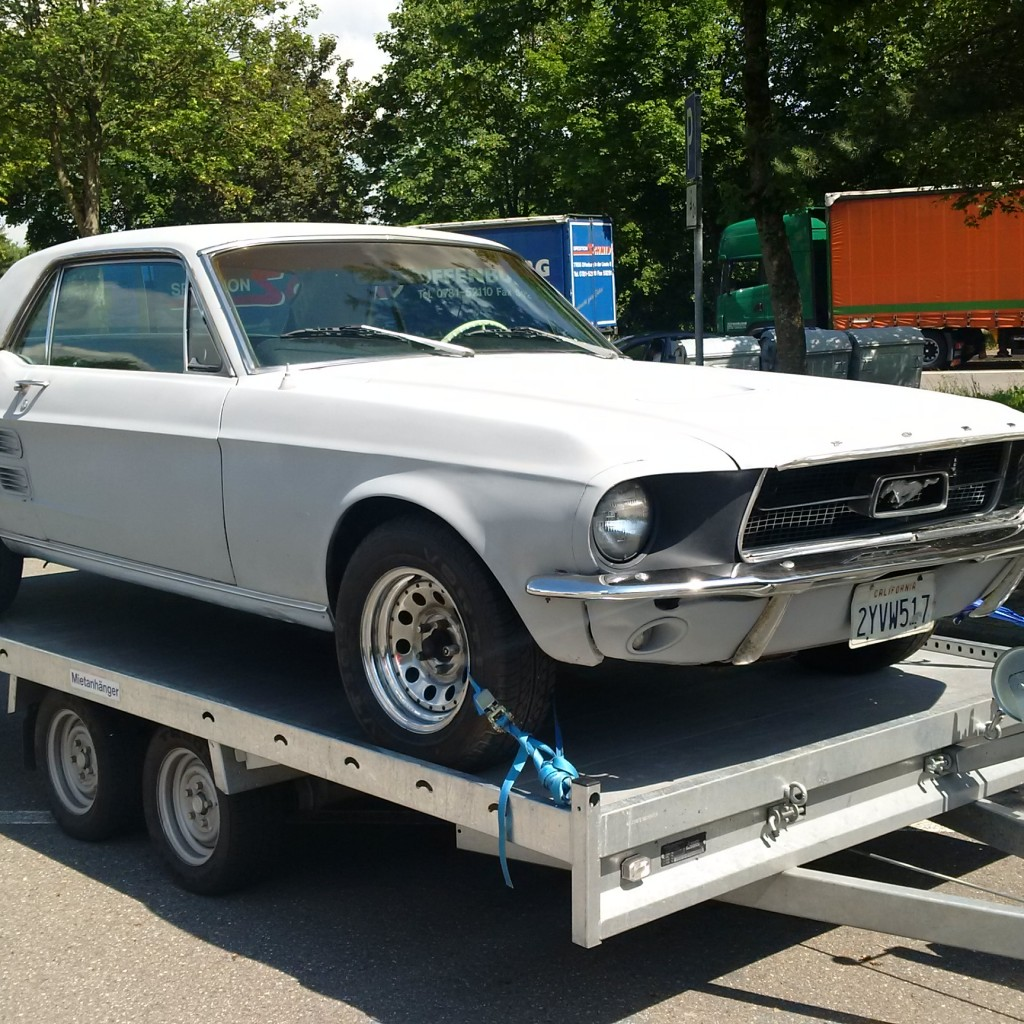 1967 Ford Mustang – Part 1