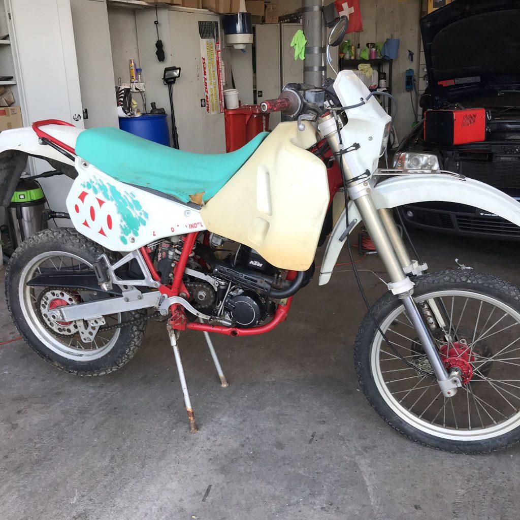 1991 KTM ER 600 LC4  – Part 2