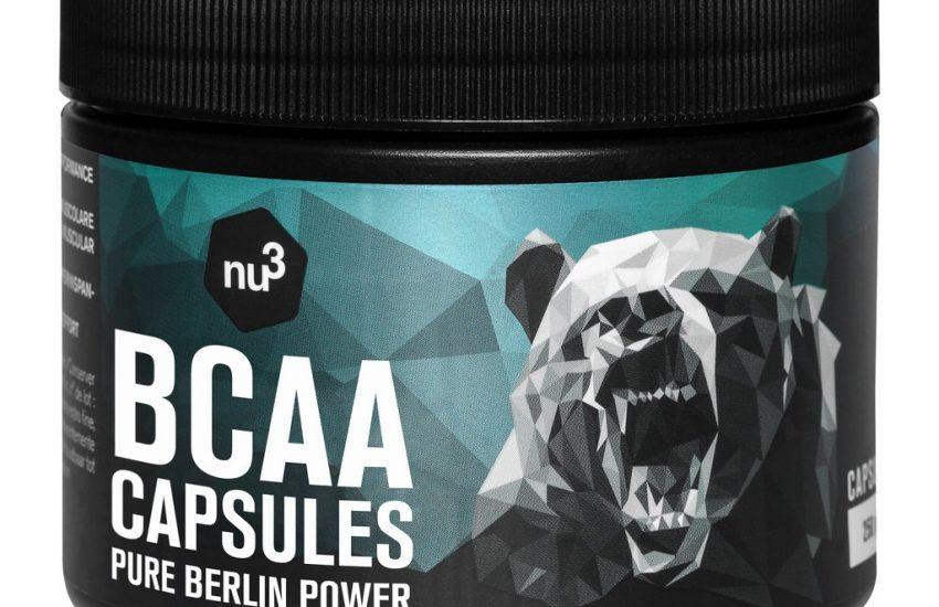 BCAA Kapseln - nu3.ch